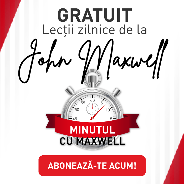 A Minute With Maxwell - JohnMaxwellTeam.ro